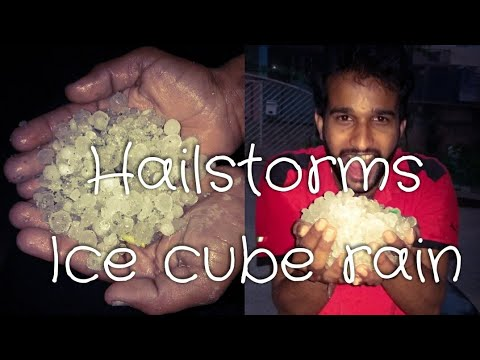 Hailstorm in Bangalore | Ice cube rain in bangalore 30th March