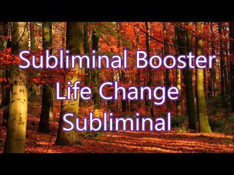 Subliminal Booster - Life Change Subliminal
