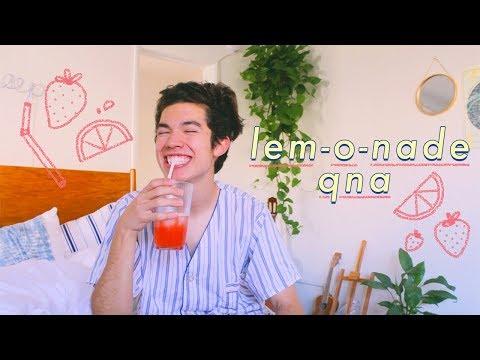 A Lemonade Q&A 🍋 (Music, Art, College)
