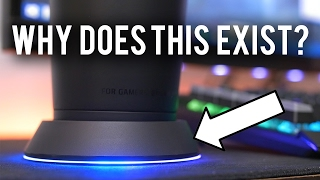 SUPER RARE RGB COASTER!! Razer Chroma MUG HOLDER Review
