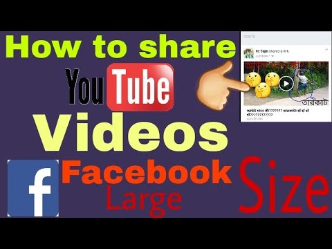 How to get large youtube videos thumbnail when shared on facebook
