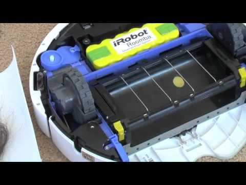 How to clean an iRobot Roomba 500/700 Series