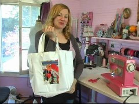 How to Make a Cloth Grocery Bag : Finished Product for Cloth Grocery Bag