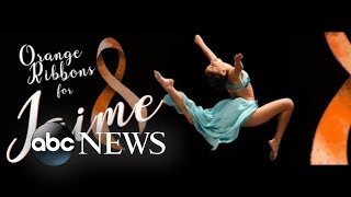 Dancers competing near Parkland, Florida, honor shooting victim Jaime Guttenberg