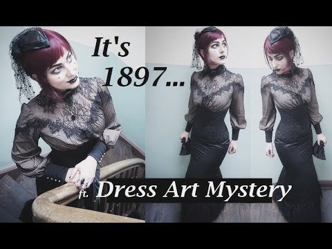 Penny Dreadful Outfit - Victorian Goth Costume by Dress Art Mystery | lilachris