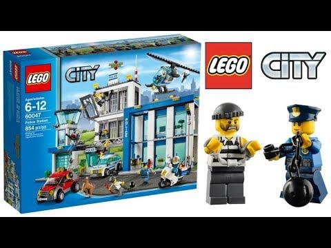Lego City Police Station 60047 - Lego Speed Build