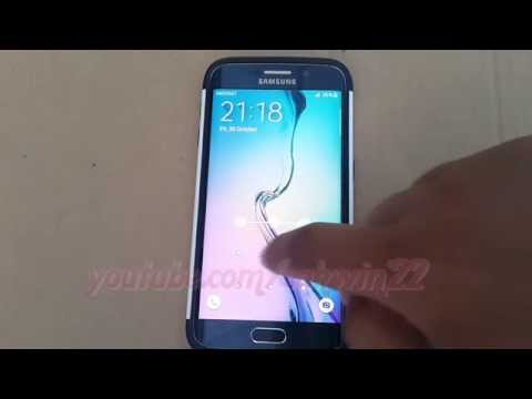 Android : How to Change Lock Screen Type as Password in Samsung Galaxy S6