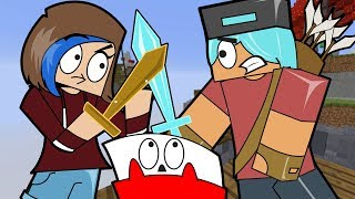 Chad Vs. Audrey 1 Vs. 1 / Minecraft Bedwars / Gamer Chad Plays
