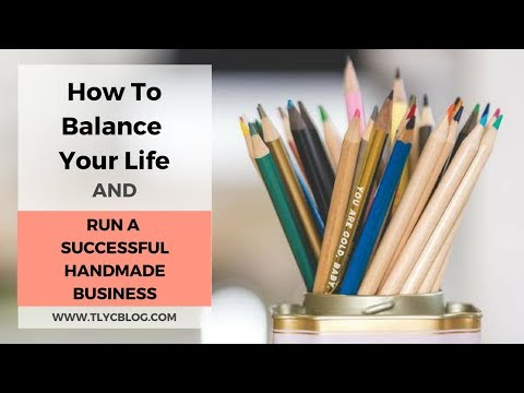 How to Balance Your Life & Run a Successful Handmade Business [IG LIVE Replay with @AlexCreates