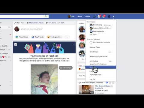 Changing your Facebook Timeline Settings