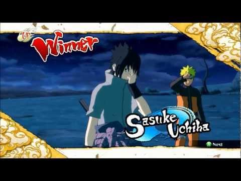 Naruto Storm 3: EMS Sasuke Vs Edo Itachi