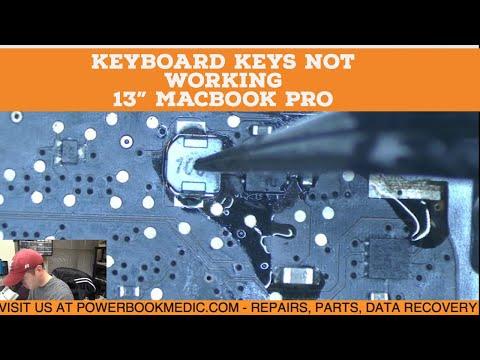 Keyboard Keys not Working on Macbook Pro 13