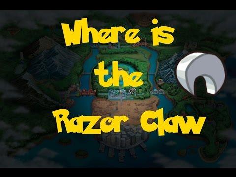 Where Is: The Razor Claw (Location 1) (Pokemon Black 2/White 2)