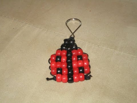 Ladybug Bead Animal Tutorial