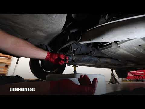 Mercedes W124 Rear Differential Oil Change