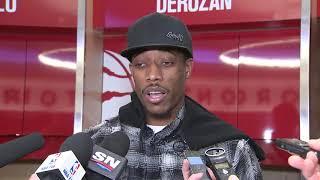 DeMar DeRozan Postgame Interview / Raptors vs Wizards / Nov 19