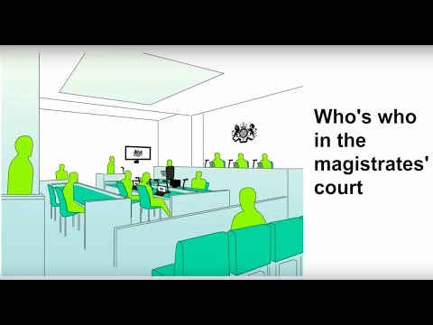 Coming to a magistrates court