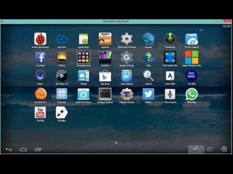 How to run whatsapp & Android applications into Computer or Laptop ( install Bluestacks )