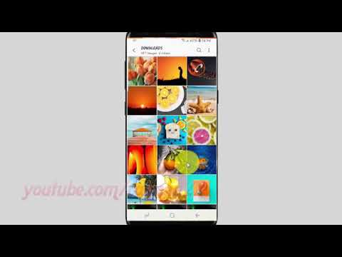 Samsung Galaxy S9 : How to add album shortcut to home screen