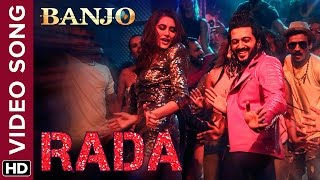 Rada Official Video Song | Banjo | Riteish Deshmukh, Nargis Fakhri | Vishal & Shekhar