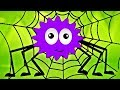 Incy Wincy ragno   poesia per più piccoli   ragno rima cartone animato   filastrocche   Spider Song