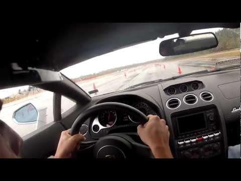 POV Driving Lamborghini Gallardo LP560-4