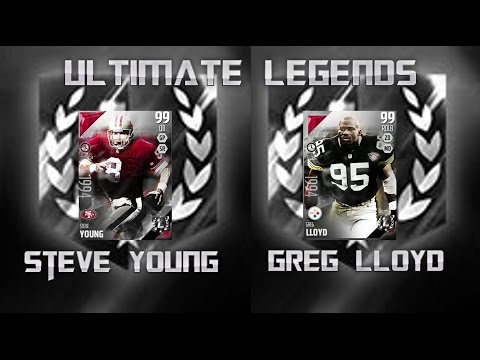 UL STEVE YOUNG AND UL GREG LLYOD! - Madden 16 Ultimate Team