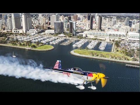 Kirby Chambliss and the Red Bull Air Force Warm Up the Skies of San Diego
