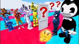 WILL INK SHADOW FREDDY & BENDY JOIN THE LIGHT SIDE? (GTA 5 Mods For Kids FNAF RedHatter)