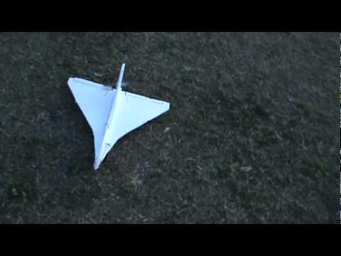 homemade rc jet maiden flight (part 1)