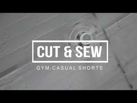 Fitness Sport/Gym/Casual/Beach - 100% Custom Cut & Sew Shorts
