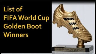 List of FIFA World Cup Golden Boot Winners (1930-2014)   Top Goal scorers in World Cup