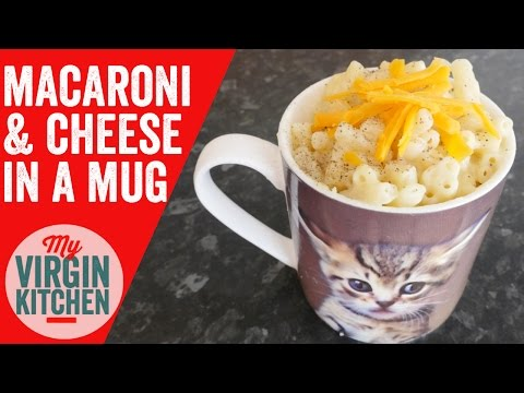 MAC & CHEESE IN A MUG