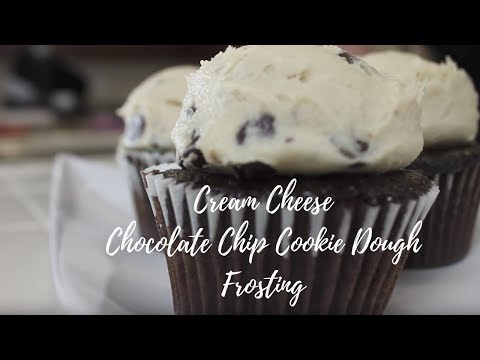 Cream Cheese Chocolate Chip Cookie Dough Frosting | Cayla Jordan TV