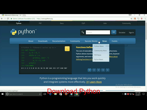 How to Install Python for Windows 10