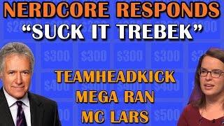 Suck It Trebek A Response Rap Teamheadkick Mega Ran Mc Lars