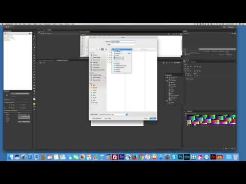 Animate CC (HTML 5) self running slideshow uses timer