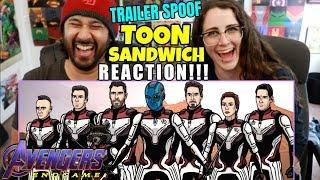 Download Avengers Endgame Trailer Spoof - TOON SANDWICH - REACTION!!! Video