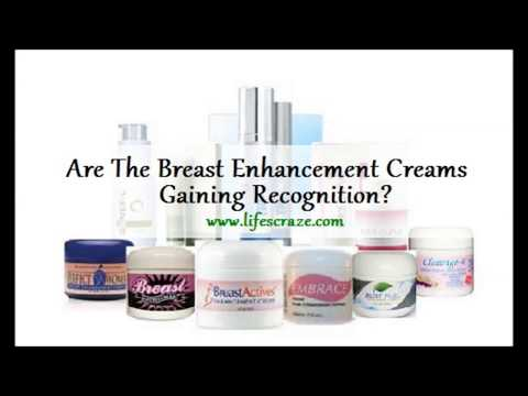 Are The Breast Enhancement Creams Gaining Recognition + Contest