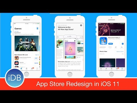 First Look at the Revamped App Store on iOS 11