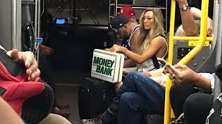 This is what Carmella did after winning Money in the Bank
