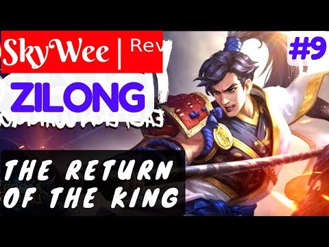 The Return of the King [Rank 1 Zilong] | SkyWee | ᴿᵉᵛ Zilong Gameplay and Build #9 Mobile Legends