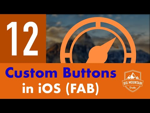 Custom UIButton: Floating Action Button - Part 12 - Itinerary App (iOS, Xcode 9, Swift 4)