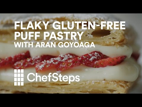 Flaky Gluten-Free Puff Pastry from Canelle et Vanille's Aran Goyoaga