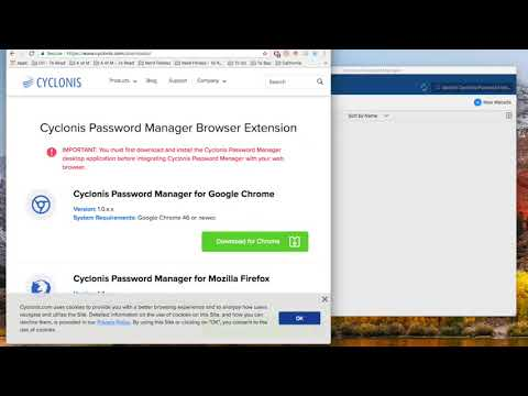 Cyclonis Password Manager Overview