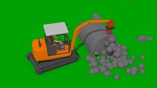 Ship & Lighthouse Construction | Mini Excavator with Hammer, Concrete Mixer & Construction Vehicles