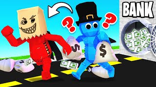 ROBBING a BANK in a BOARDGAME (Pummel Party)