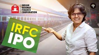 IRFC IPO Review by CA Rachana Ranade