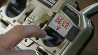 A Pneumatic Beer Delivery System