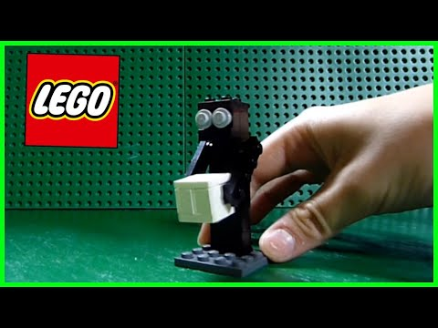 How to Build a LEGO Minecraft Enderman - MOC